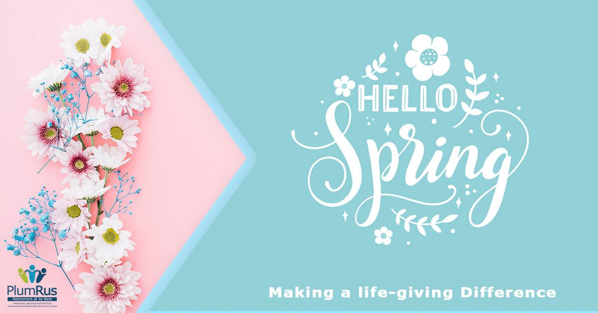 PlumRus September Newsletter - Hello Spring